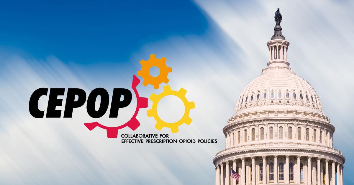 U.S. Capitol / CEPOP Logo